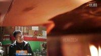 【拍客】最牛美术老师邹华章手绘苹果巨人乔布斯烟熏画