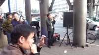 偏偏喜欢你-广州岗顶街头艺人弹唱20140111