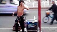 明月夜(《沉默是金》国语版)-广州岗顶街头艺人演唱20140111
