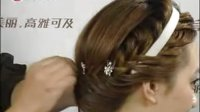 编发最新造型 卷发盘发视频 流行美韩式发型
