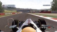《F1 2011》比利时大奖赛 辅助全关 最高难度 手动档 方向盘操作