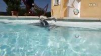 彩鲨泳池全自动泳池吸污机