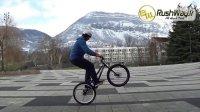 攀爬自行车教学 VVT-腾空踢脚踏