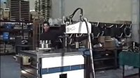 西班牙GAMOR液压攻丝机大直径螺纹攻丝演示