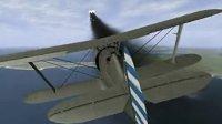 伊尔2—1937淞沪会战 上海外海中国空军I-15 vs 日本海军九六舰战