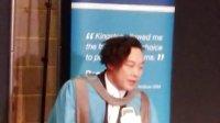 陈奕迅获金斯顿大学荣誉音乐博士感言