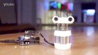 Arduino-Spazzi- a solenoid-powered dancebot