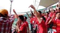 20120527 哈尔滨毅腾4-0北京八喜全场 哈尔射门球迷俱乐部球迷手举钞票讽刺裁判