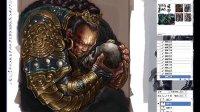 DOGAME游戏兵工厂合作专区之聚鎏陶画道工作室原画教程-满洲勇士