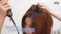 扎头发 韩式时尚流行马尾花苞头视频教程 简单易学编扎辫子盘头编发学习技巧
