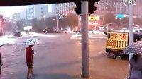 洛阳2012年6月23号18点60大暴雨冰雹