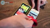 iPhone弱爆了 看Lumia920屏幕超灵敏测试