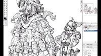 DOGAME游戏兵工厂合作专区之聚鎏陶画道工作室原画教程-铁匠家族