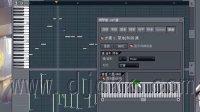 FL Studio 9 基础视频教程之:033,钢琴窗-自动琶音旋律生成机器
