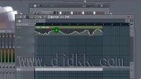 FL Studio 9 基础视频教程之:61,播放列表-包络线