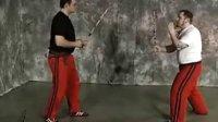 现代Arnis的棍缴棍攻击技术展示与教学示范
