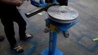 弯靠背椅大型手动弯管机 操作视频