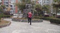 高安子君广场舞-并四-花桥流水(附背面和分解)