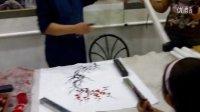 南京手指绘画艺术