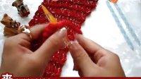 泡泡编织视频教程 第二十八集 转运节围巾 简单围巾