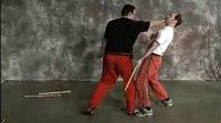 现代Arnis徒手缴棍攻击技术展示与教学示范