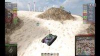 大鹤解说 坦克世界 25t m48组队配合 对方阴小湿大