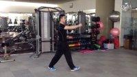 张琨健身小讲堂(三十三)踢腿摸脚。(全国英派斯明星私教张琨)