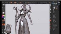 3D游戏角色设计与制作Vol.01-06.模型理论之边缘控制,交接,层和法线贴图!