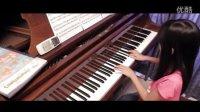 莫扎特《土耳其进行曲》天才小萝莉演奏 自学钢琴视频教程