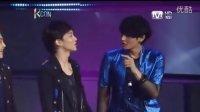 Tao, Chen, Xiumin, Luhan and Lay speaking English
