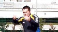 汤姆-拜尔校园足球教学视频之二 左右脚内侧踢球