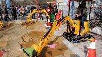 儿童游乐挖掘机 广场/公园娱乐设备 发明专利产品--济宁微装