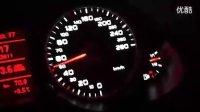 Q5改装全段排气后100KM加速视频
