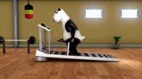跑步机-(倒霉熊模板)2013
