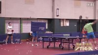 斯帝卡V乒乓第三期张继科马龙花式乒乓表演
