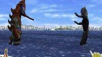 奥特曼格斗进化0娱乐流程《怪兽篇》希波利特星人