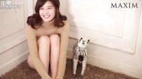 首尔大学女神曝光 骑玩具斑马长腿惹人爱