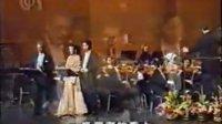 多明戈上海独唱音乐会 与 和慧 廖昌永 演唱《康定情歌》