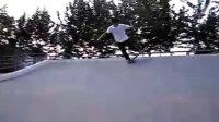 望京滑板 王岳 弧坡540平转