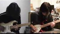 卡农 canon rock  final twin guitar
