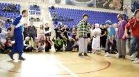俄罗斯 2011 年底 鬼步舞 比赛 视频 Robo vs Fata 曳步舞