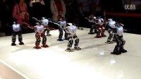 丽水世博会机器人舞蹈表演