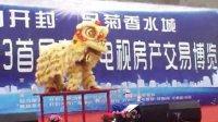 开封文化庆典何氏龙狮团(开封2013电视房产交易博览会)