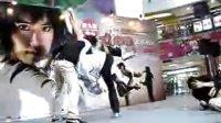 《女拳霸》女主角Jija Yanin 在西九龍中心作武打動作示範