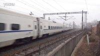 京广铁路D4535次 涿州火车站南侧西河村拍车 京广线