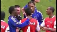06-07英格兰联赛杯决赛阿森纳与切尔西的斗殴!