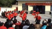 合肥大兴女子堂鼓队―钢南社区演出广场扇子舞《红梅赞》