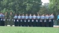 2007级中南民族大学军训阅兵剪影