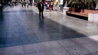 2014年03月14日,西昌步行街,国美鞋城,地摊哥 向超