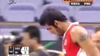 7月29日 男篮钻石杯 阿根廷vs伊朗 第一节
